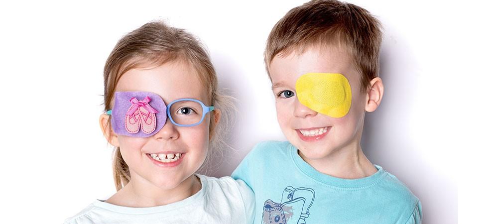 """Ambliopia sau """"ochiul leneș"""" la copii"""